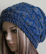 Load image into Gallery viewer, Cable-Slouchy-Over-Sized-Beanie-Nchanted-Gifts