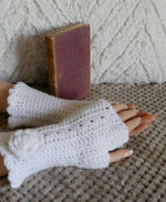 Load image into Gallery viewer, Flower-Fingerless-Wrist-Warmers-Nchanted-Gifts