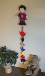 Load image into Gallery viewer, Superman-Personalized-Name-Banner-Nchanted-Gifts