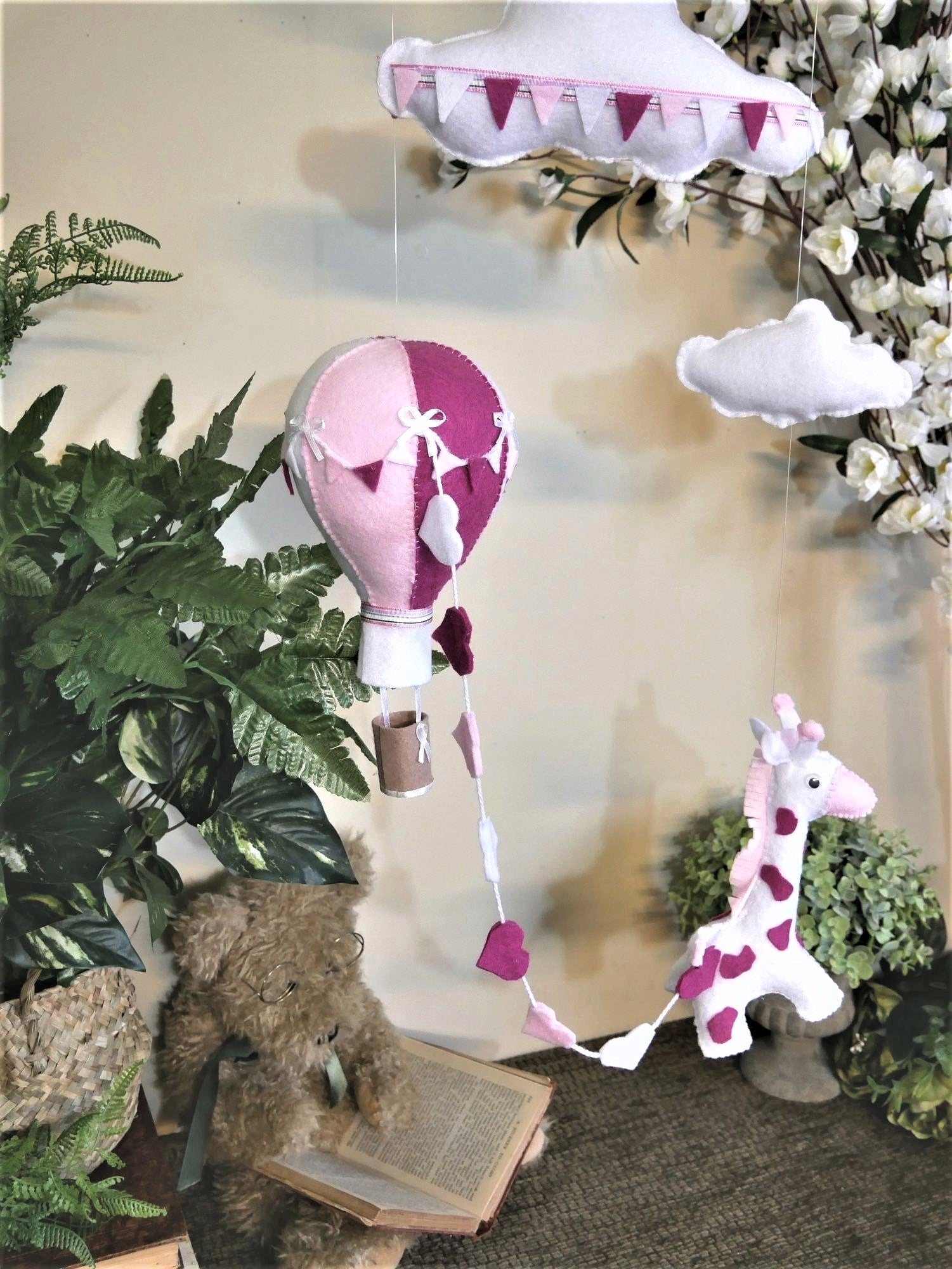 Hot-Air-Balloon-Mobile-With-Giraffe-Nchanted-Gifts