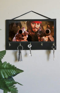 Johnny-Depp-as-Captain-Jack-Sparrow-Key-Rack-Hanger-Nchanted-Gifts