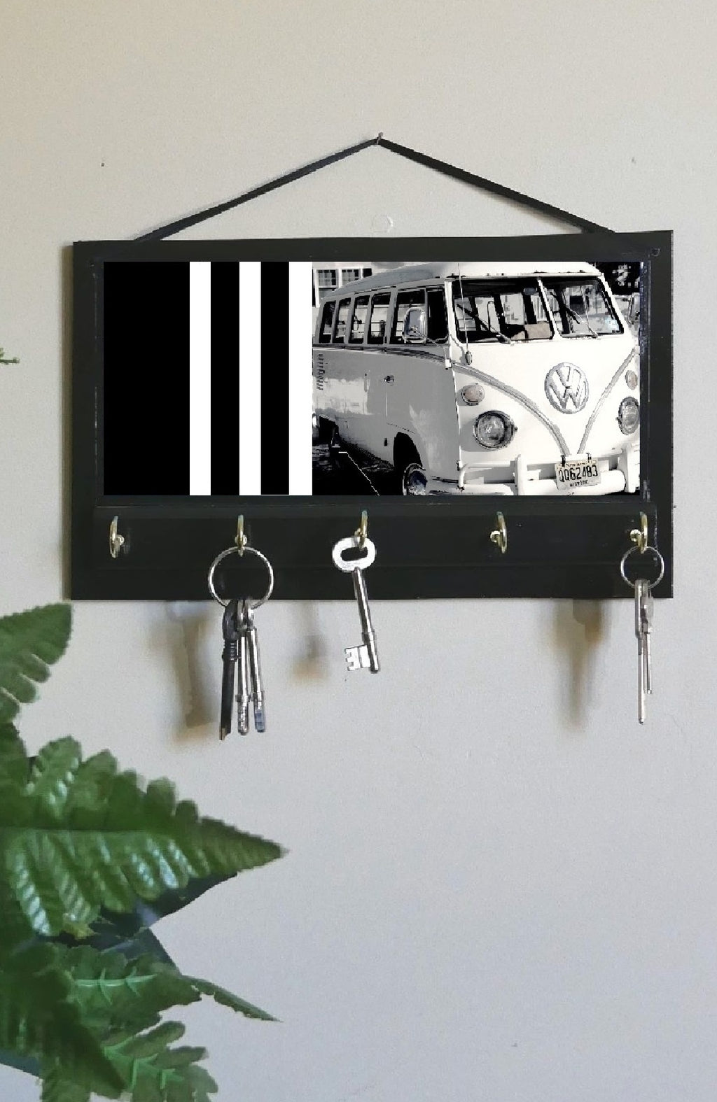 Kombi-Vans-Print-Key-Rack-Holder-Nchanted-Gifts