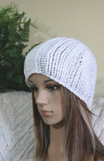 Load image into Gallery viewer, Cable-Skull-Beanie-Nchanted-Gifts