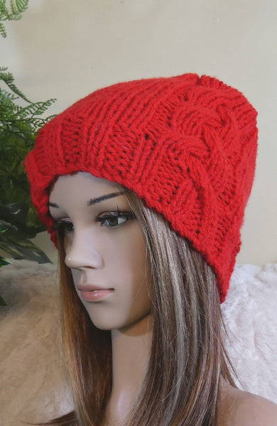 Handmade-Cable-Beanie-Nchanted-Gifts