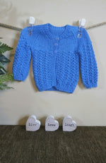 Load image into Gallery viewer, Baby-Jacket-in-Blue-Nchanted-Gifts