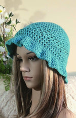 Load image into Gallery viewer, Crochet-Bucket-Hat-for-Adults-Nchanted-Gifts