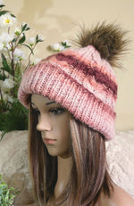 Load image into Gallery viewer, Mohair-Luxury-Cable-Beanie-Nchanted-Gifts