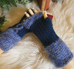 Load image into Gallery viewer, Think-Blue-Fingerless-Gloves-Nchanted-Gifts