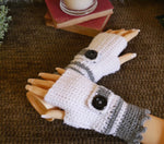 Load image into Gallery viewer, Fingerless-Buckle-Wrist-Warmers-Nchanted-Gifts