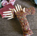 Load image into Gallery viewer, Crochet-Arm-Warmers-Nchanted-Gifts