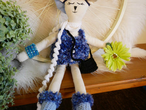 Cat-Fabric-Doll-Nchanted-Gifts