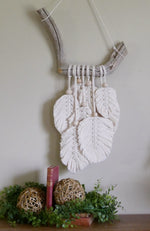 Load image into Gallery viewer, Feather-Macrame-Nchanted-Gifts