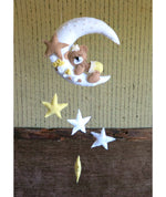 Load image into Gallery viewer, Teddy-Moon-and-Stars-Mobile-Nchanted-Gifts