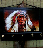 Load image into Gallery viewer, American-Indian-Entryway-Organizer-Nchanted Gifts