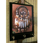 Load image into Gallery viewer, American-Indian-Dream-Catcher-Print-Nchanted-Gifts