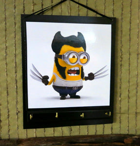 Key-Rack-Wolverine-Minion-Nchanted-Gifts