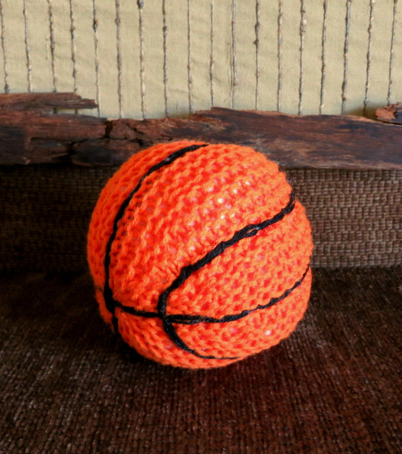 Basketball-Hand-Knitted-Nchanted-Gifts