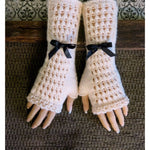 Load image into Gallery viewer, Lace-Burlesque-Gloves-Nchanted-Gifts