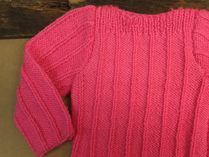 Girls-Hot-Pink-Pullover-Jumper-Nchanted-Gifts