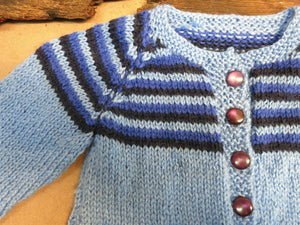 Wool-Blue-Striped-Cardigan-Nchanted-Gifts