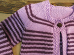 Load image into Gallery viewer, Striped-Wool-Kids-Cardigan-Nchanted-Gifts