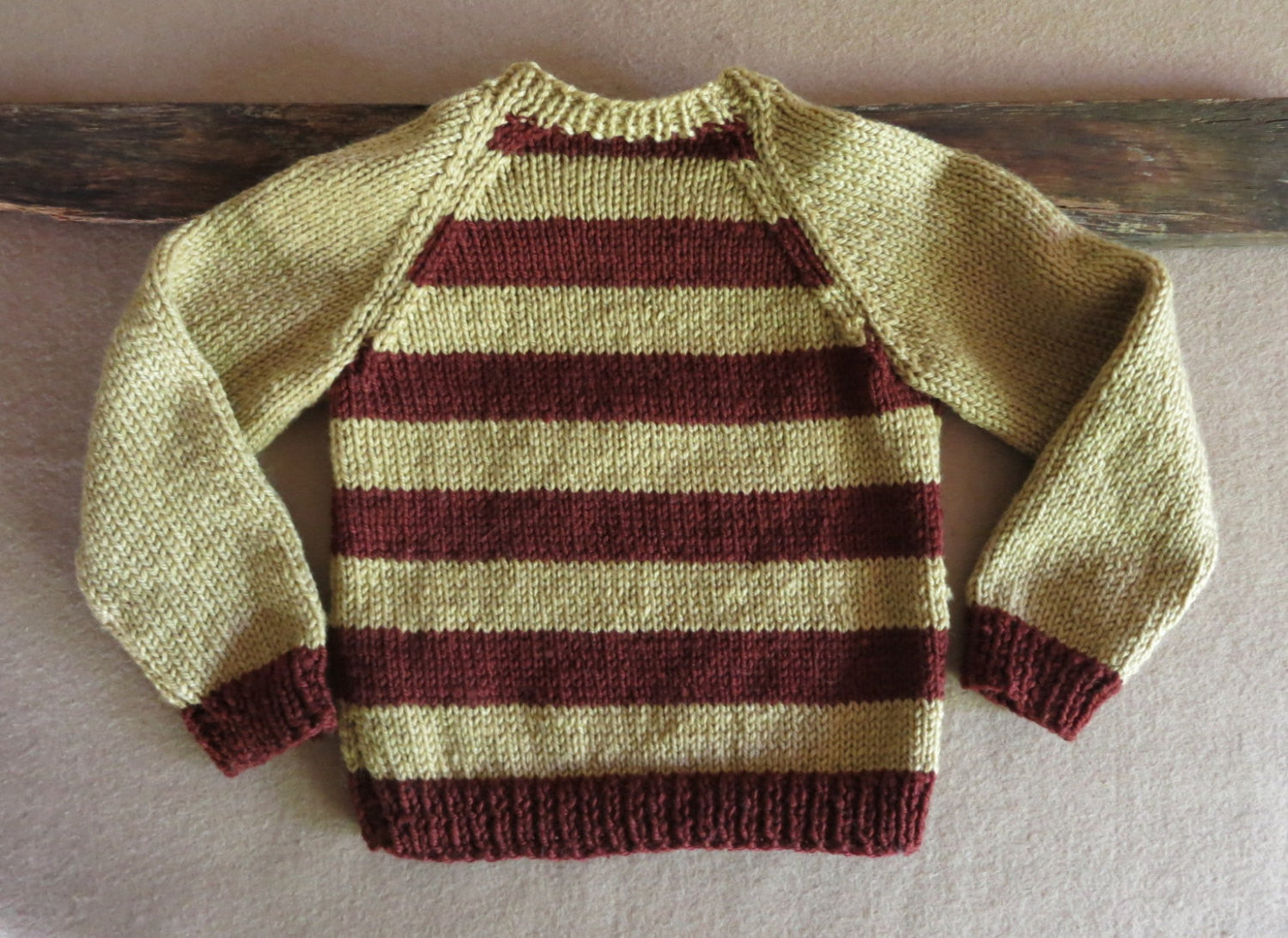 Brown-Stripe-Toddler-Sweater-Nchanted-Gifts