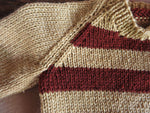 Load image into Gallery viewer, Brown-Stripe-Toddler-Sweater-Nchanted-Gifts