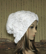 Load image into Gallery viewer, Cable-Slouchy-Beanie-Hat-Nchanted-Gifts