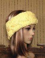 Load image into Gallery viewer, Hand-Knit-Cable-Headband-Nchanted-Gifts