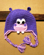 Load image into Gallery viewer, Hippo-Face-Beanie-Nchanted-Gifts
