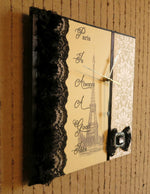 Load image into Gallery viewer, Paris-Theme-Wall-Clock-Nchanted-Gifts