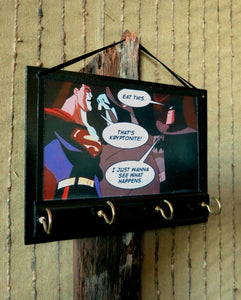 Superman-Batman-Print-Key-Rack-Holder-Nchanted-Gifts