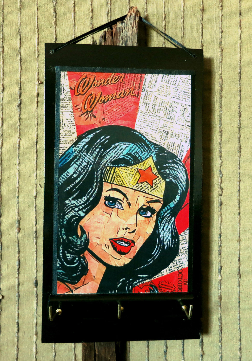 Entryway-Organizer-Wonder-Woman-Key-Rack-Nchanted-Gifts