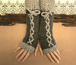 Load image into Gallery viewer, Long-Corset-Fingerless-Gloves-Nchanted-Gifts