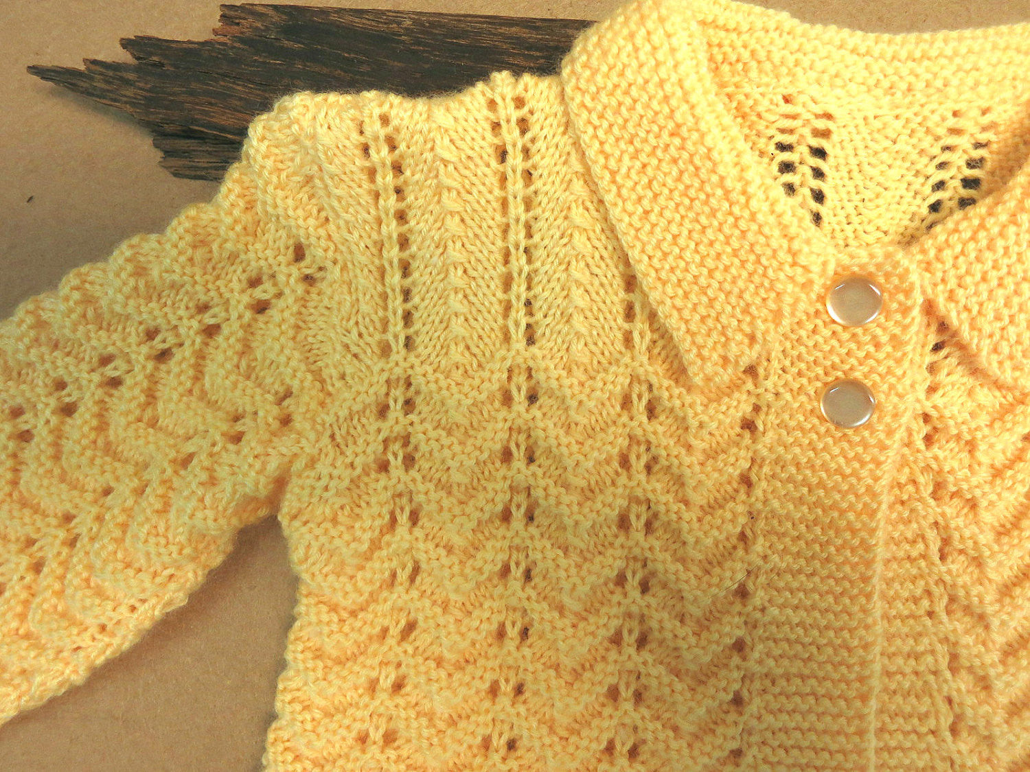 Lemon-Matinee-Jacket-for-Baby-Nchanted-Gifts