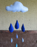 Load image into Gallery viewer, Nursery-Mobile-With-Raindrops-Nchanted-Gifts