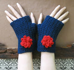 Load image into Gallery viewer, Flower-Wrist-Warmers-Nchanted-Gifts