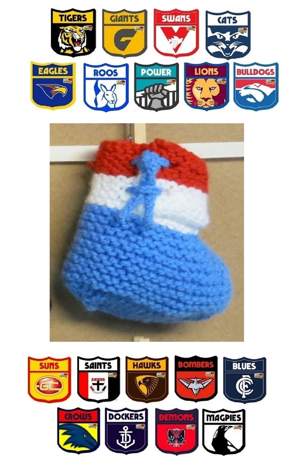 AFL-Football-Slippers-all-Teams-2-3-Years-Nchanted-Gifts