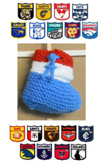 Load image into Gallery viewer, AFL-Football-Slippers-all-Teams-2-3-Years-Nchanted-Gifts