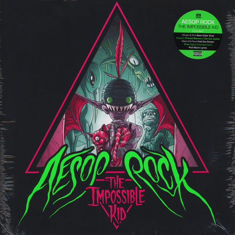 Aesop Rock - The Impossible Kid (2xLP Green & Pink Neon Vinyl)