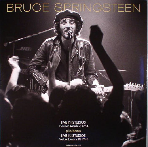 Bruce Springsteen - Live In Studio, Houston March 9th, 1974 (LP)