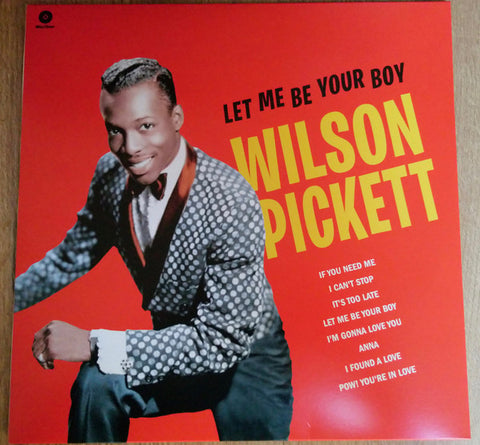 Wilson Pickett - Let Me Be Your Boy (LP)