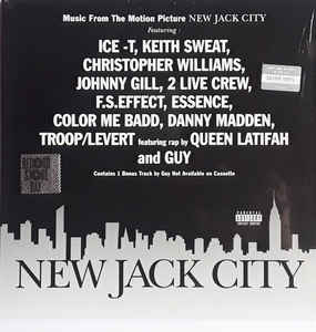 New Jack City - Music from the Motion Picture (LP)