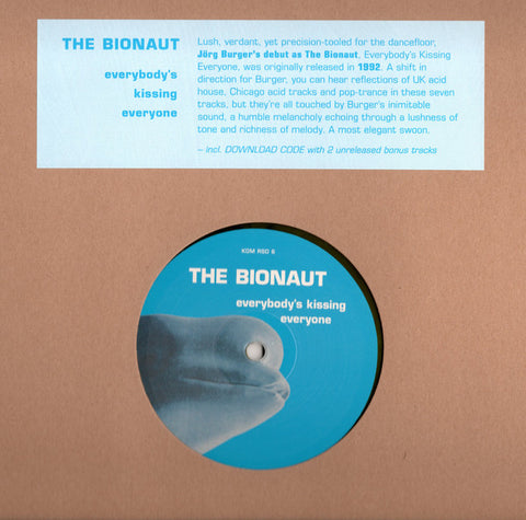 "The Bionaut ‎– Everybody's Kissing Everyone (12"" Yellow) RSD 2020"