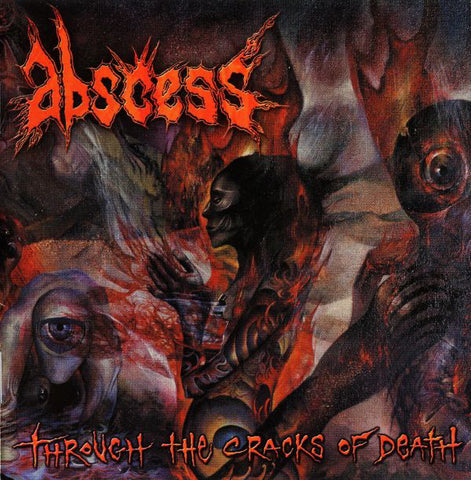 Abscess - Through The Cracks of Death (LP)