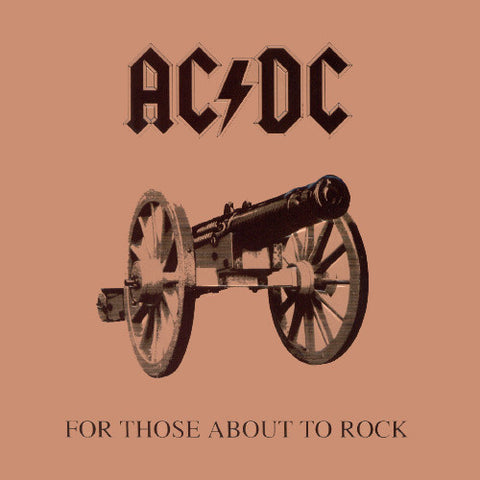 AC/DC - For Those About To Rock (LP)