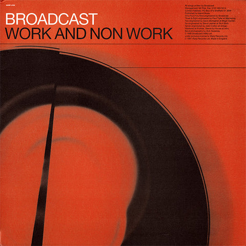 Broadcast - Work & Non Work (LP)