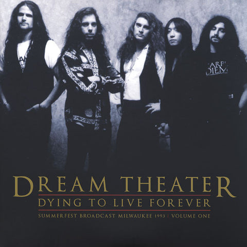 Dream Theater - Dying To Live Forever: Summerfest Broadcast Milwaukee 1993, Vol. 2 (Gatefold LP)