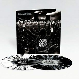 Discharge - Protest and Survive (Gatefold, 2xLP b&w Splatter)