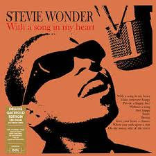 Stevie Wonder - With A Song In My Heart (Gatefold LP)